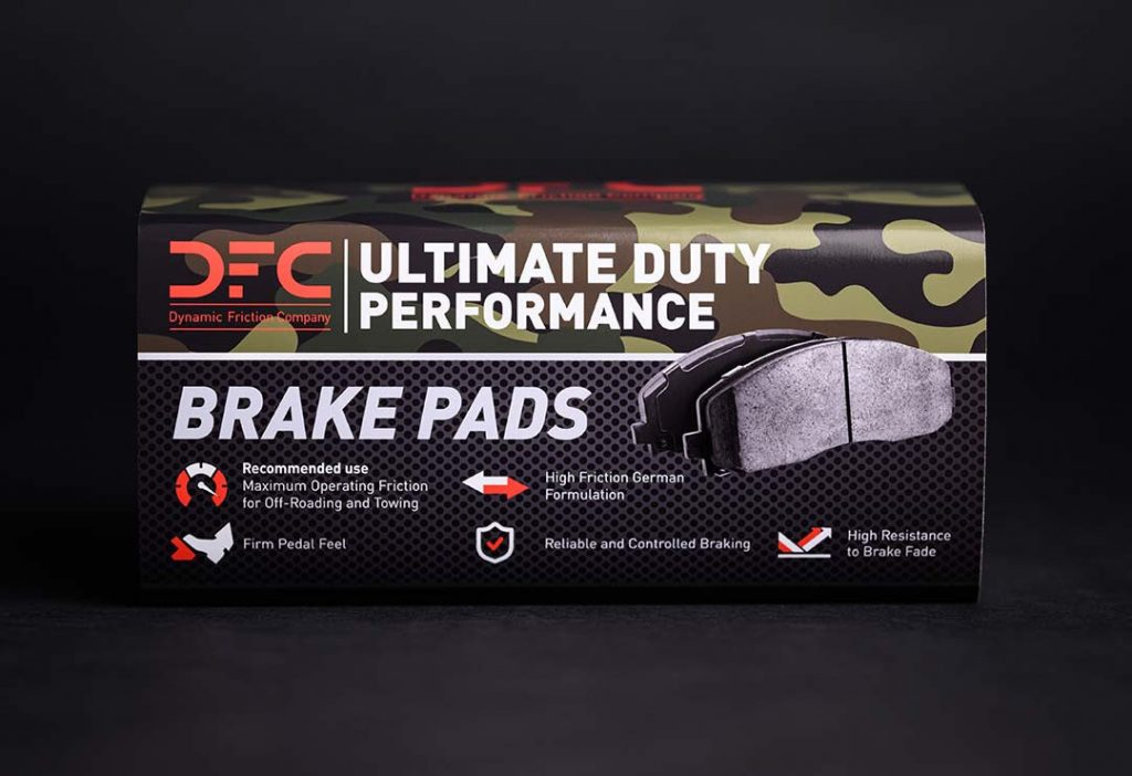 DFC Ultimate Duty Performance Pads