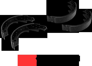 DFC brake shoes