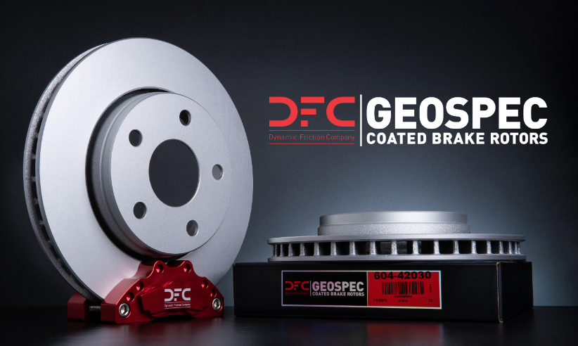 3 Reasons Why your Customers will be impressed with GeoSpec Coated Brake Rotors