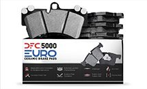DFC Announces New 5000 EURO Ceramic Brake Pads – Low Dust & Noise for European Applications!